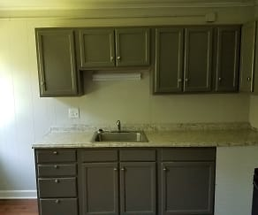 Kitchen, Reynolda Manor Apartments