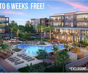 Up to 6 weeks free, Kestra Apartments