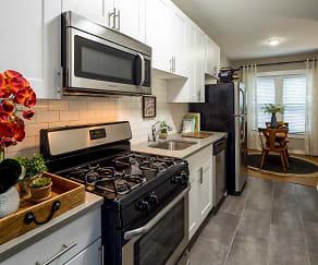 Kitchen, Elaine Place Apartments