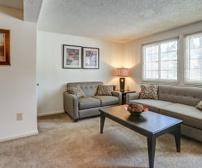 Living Room, Eland Downe Townhomes