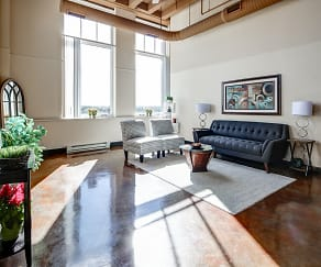 Living Room, Schuster Lofts