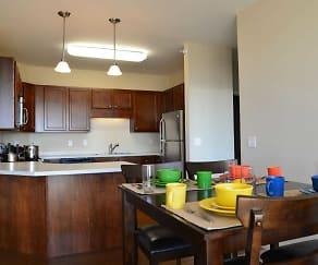 Kitchen, Eagle Crest Apartments