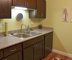 Kitchen, Briarcliff At West Hills Apartments of Knoxville