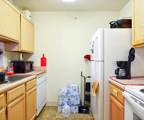 Kitchen, Fairbrooke Senior Apartments