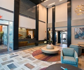 River Tides Dramatic Lobby with 24/7 Concierge Desk, River Tides at Greystone
