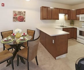 Dining Room, Transit Pointe Senior Apartments