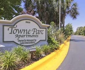 Community Signage, Towne Parc Apartments