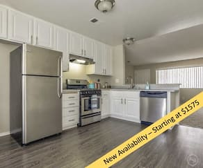 Kitchen, Westerly Shores Apartments