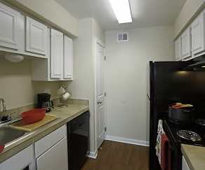Kitchen, Casa Verde Apartments