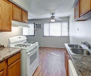 Kitchen, Nevada Apartments