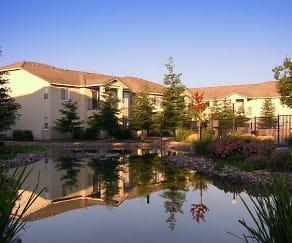 Lake, Village Terrace Apartments