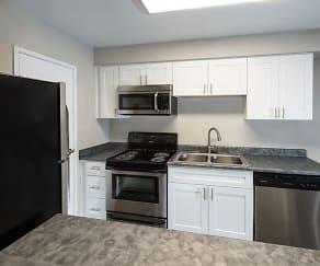 Kitchen, 3001 Park Apartments