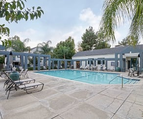 Pool, Ridgeline Apartments