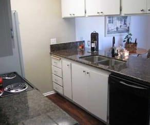 Kitchen, Sandpiper Apartments, The