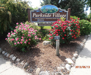Community Signage, Parkside Village Senior Apartments