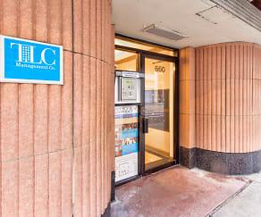 Community Signage, Gramercy Row Apartments