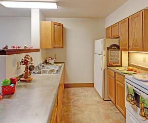 Kitchen, Ridgeview Commons III - Senior 62+ or Eligible Disabled