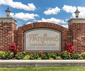 Community Signage, The Waterways Of Lake Saint Louis