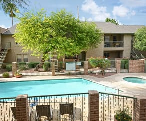 Pool, Sand Pebble Apartments