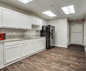Kitchen, Village Creek Townhomes