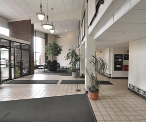 Foyer, Entryway, Park Plaza Apartments