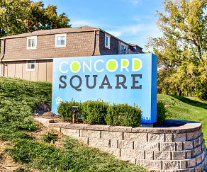 Community Signage, Concord Square Apartments
