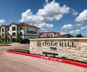 Community Signage, Stone Hill Luxury Apartments