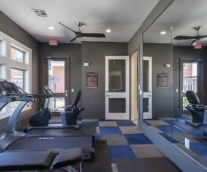 Fitness Weight Room, Smart Living at Garden Oaks
