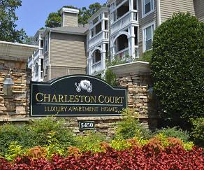 Community Signage, Charleston Court