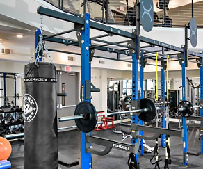 Fitness Weight Room, The Lively at Market Common