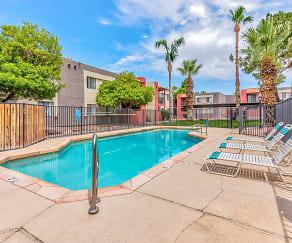 Pool, Papago Gardens
