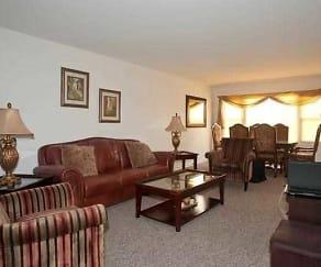 Living Room, 5000 Church Street