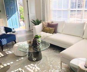 Living Room, Riverwood Apartment