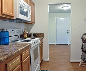 Kitchen, Driftwood Apartments