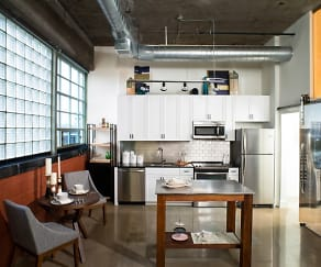 Kitchen, The Hecht Warehouse at Ivy City