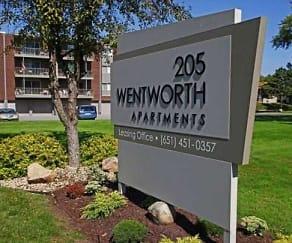 Community Signage, Wentworth Apartments