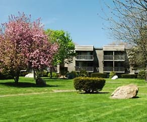 Courtyard, Twin Oaks Village