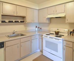 Kitchen, Tamarac Apartments
