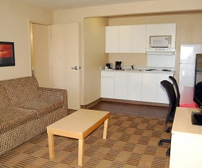 Living Room, Furnished Studio - Las Vegas - Valley View