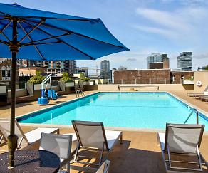 Pool, Panorama Apartments