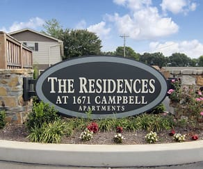 Community Signage, The Residences at 1671 Campbell