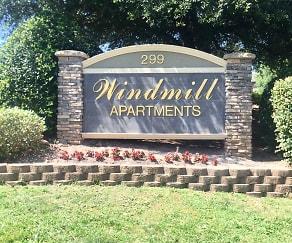 Community Signage, Windmill