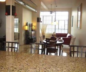 Interior, Rumford Center