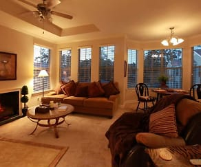 Beautifully appointed interiors, Mandeville Lake Luxury Apartment Homes
