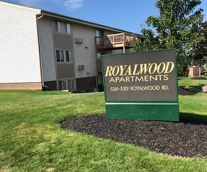 Community Signage, Royalwood Apartments