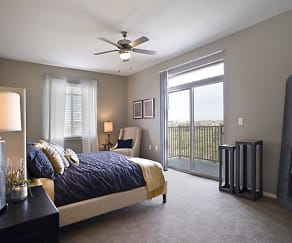 Bedroom, The Bluffs at Willow Run