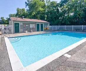 Pool, Lakeview Apartments of Farmington Hills