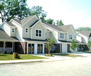 Building, Mansfield Village Townhomes
