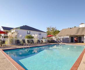 Pool, Hampton House Apartments
