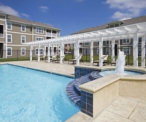 Pool, Burkart Crossing Apartments